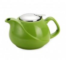 Заварочный чайник Fissman 750 мл зеленый