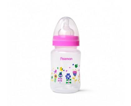 Бутылочка для кормления с широким горлышком Fissman 240 мл