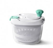 Сушилка для салата и зелени Fissman 21x20x18 см аквамарин