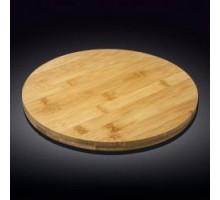Блюдо круглое поворотное 35,5х4см Wilmax Bamboo WL-771081