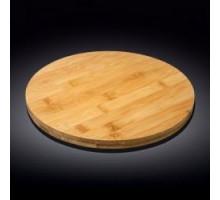 Блюдо круглое поворотное 33х4см Wilmax Bamboo WL-771080