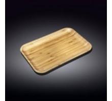 Блюдо бамбуковое прямоугольное 23х12,5см Wilmax Bamboo WL-771051