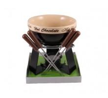 Набор д/приготов шоколадного фондю SCHOKO 6 пр. (керамика) FISSMAN (ФС6.303)