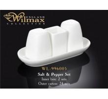 Набор соль&перец Wilmax 4 пр