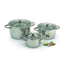 Набор посуды Vision premium со стекл. крышками 6 пр. 1106000/1106030