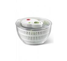 Сушилка для салата TURBOLINE BASIC 4,5 л.( Прозрачный/белый)