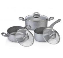 FISSMAN 4401 Набор посуды 6 предметов MOON STONE