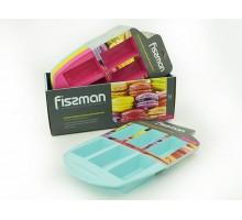 FISSMAN 6701 Форма для выпечки 6 батончиков 30x20x3,4 см (силикон)