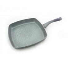 FISSMAN 4403 Сковорода-гриль MOON STONE 28х4,5 см с индукционным дном