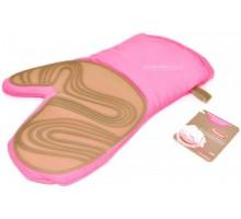 FISSMAN 7700 Рукавица с силиконовым покрытием (розовая)